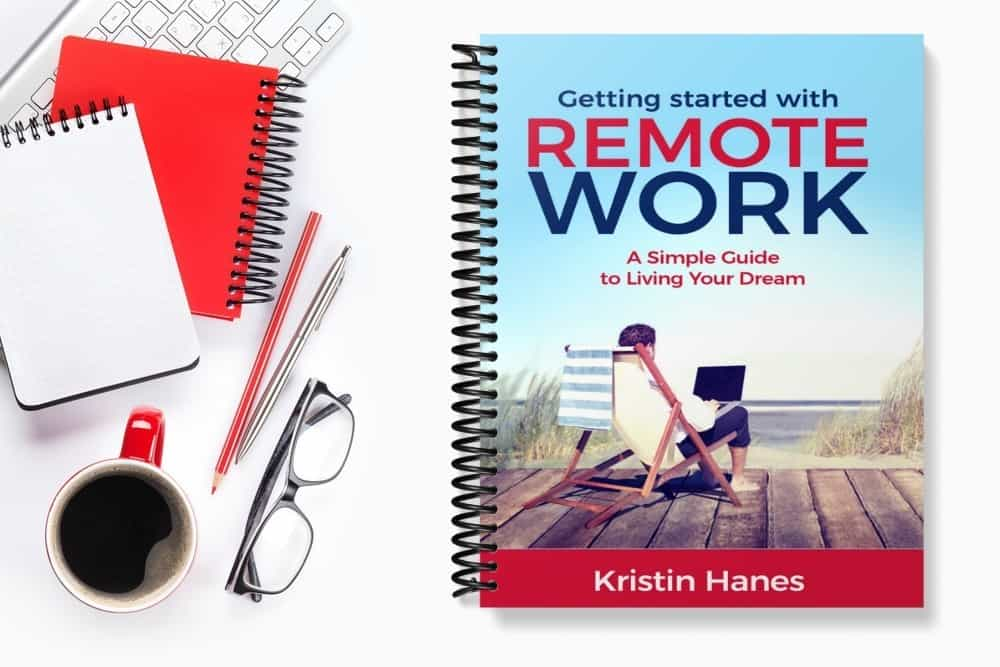 """Photo of """"Getting Started with Remote Work"""" book"""