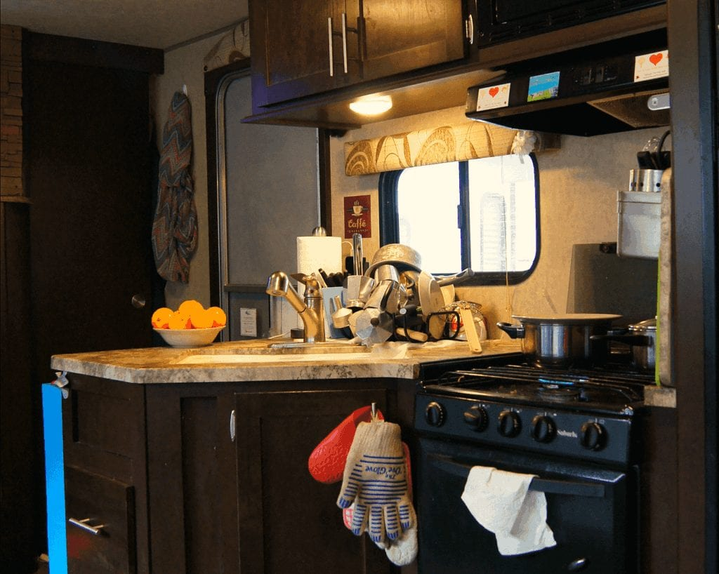 Rv Kitchen Gear What You Really Need Exploring The