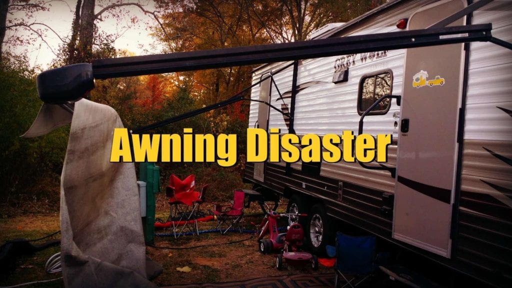 Rv Awning Disaster Exploring The Local Life