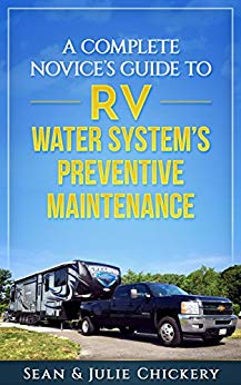 Book cover for the RV Water System's Preventive Maintenance Book.