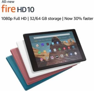 Image of various Kindle Fire HDs